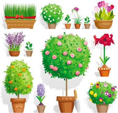 384x368 Vector Landscape Garden Elements Free Vector Download (30,315 Free