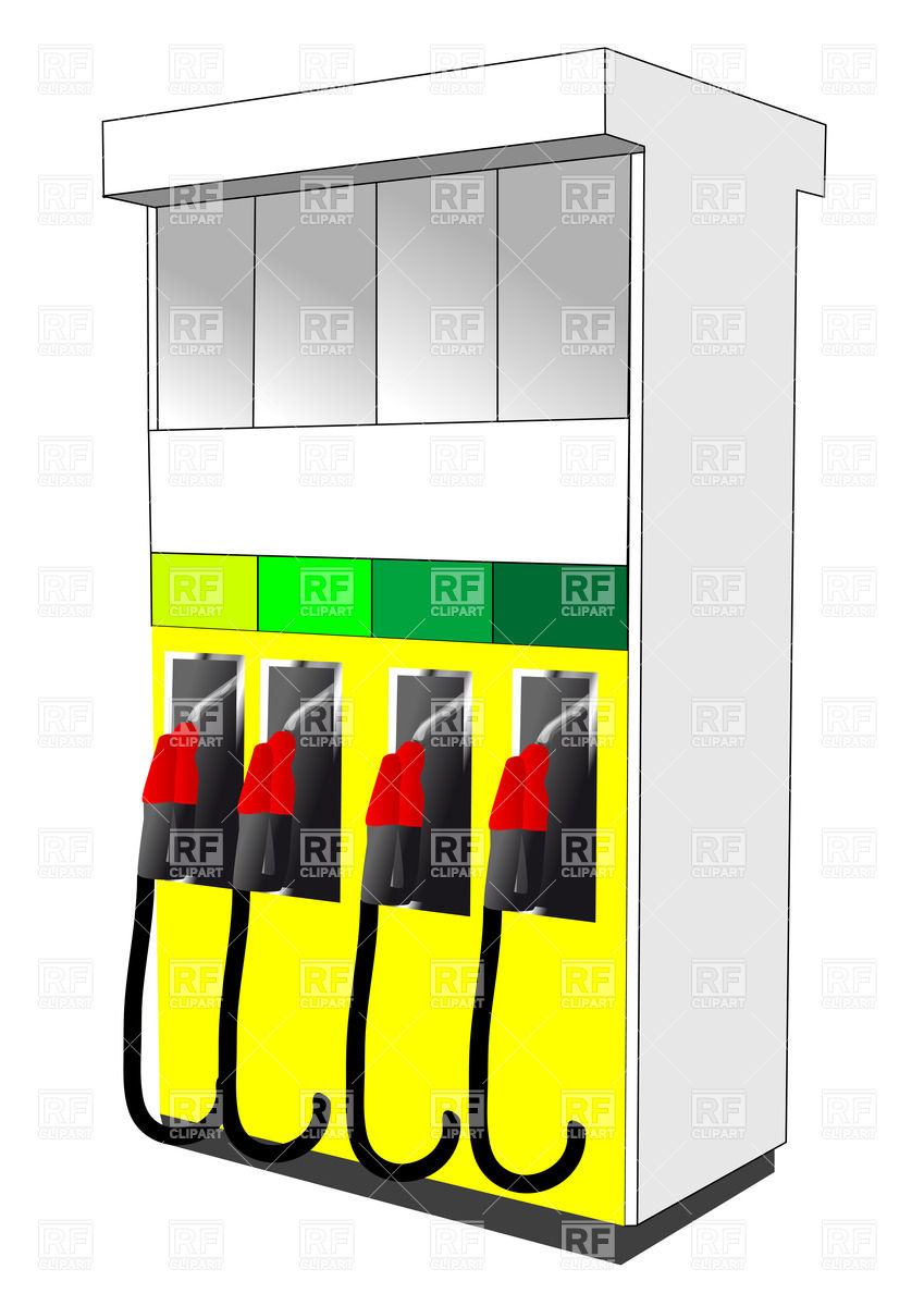 849x1200 Gas Station Pump Vector Image Vector Artwork Of Objects Arkela