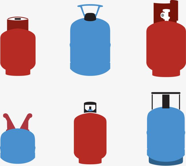 650x580 Vector Illustration A Variety Of Gas Tank, Gas Tank, Jar, Vector