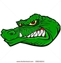 236x246 This Gator Confident Gator Mascot Is Great For Any Mascot Driven