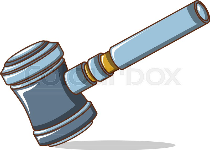800x573 Judge Gavel Icon. Cartoon Of Judge Gavel Vector Icon For Web