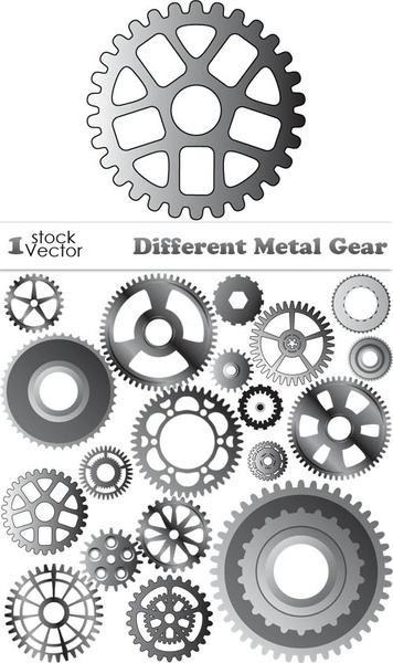 356x600 Various Metal Gear Vector Free Vector In Adobe Illustrator Ai