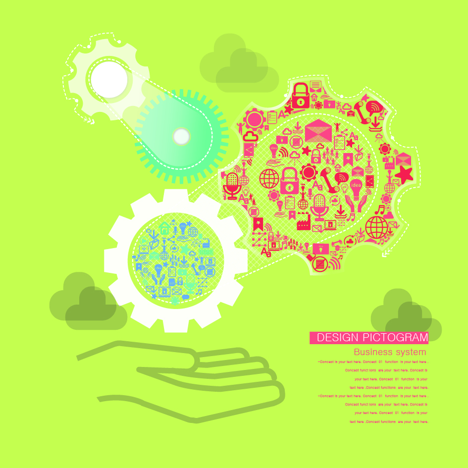 945x945 Vector Technology Gear Vector Free Download Ai Files