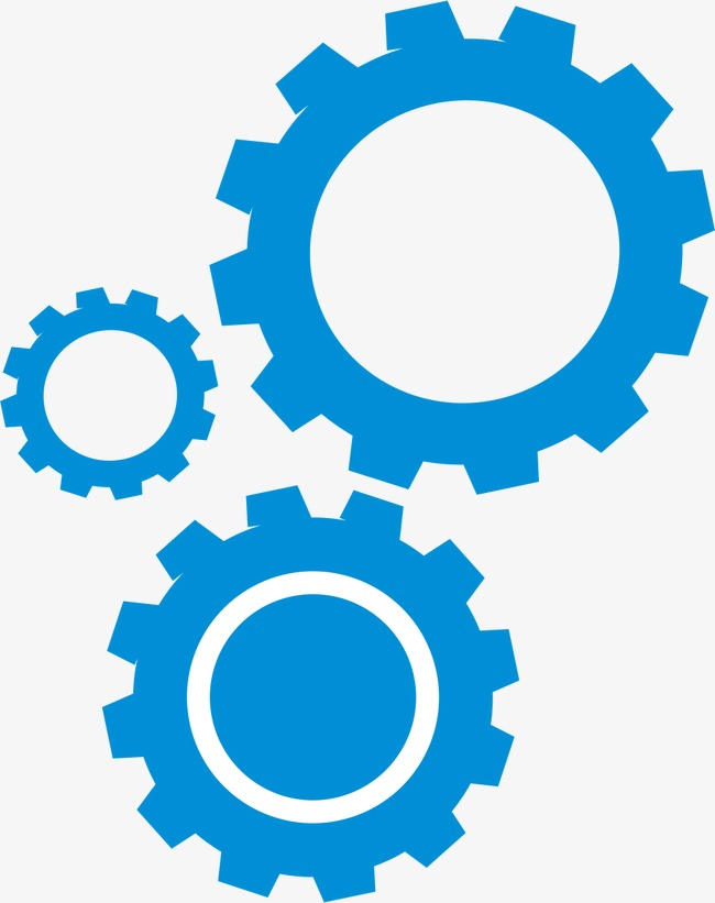 650x821 Blue Gear, Vector, Ai, Blue Png And Vector For Free Download