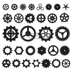 236x236 24 Best Cog Wheel Vector Images Cogs, Steampunk