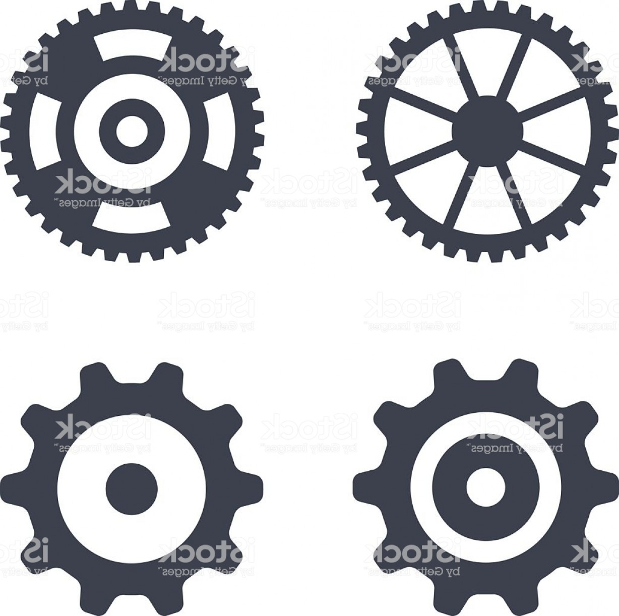 1228x1222 Machine Gear Wheel Vector Icons Isolated On White Gm Orangiausa