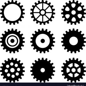 300x300 Set Of Gear Wheels Vector Sohadacouri