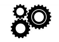 236x166 Various Style And Size Gears, Cogs And Wheels Silhouettes