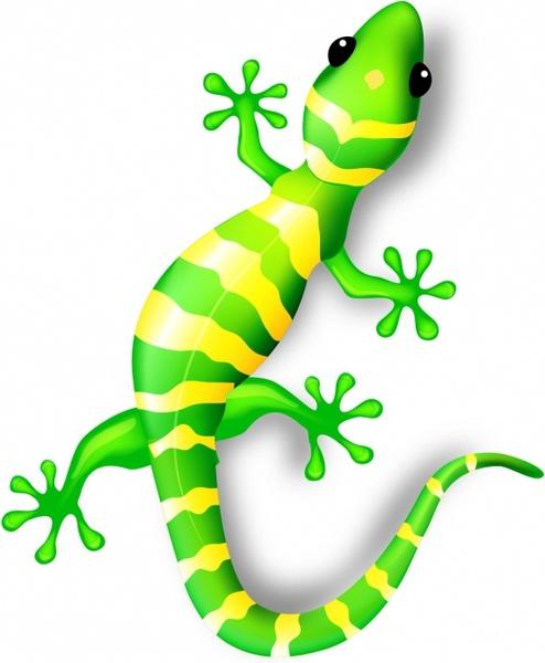 494x600 Gecko Free Vector In Adobe Illustrator Ai ( .ai ), Encapsulated