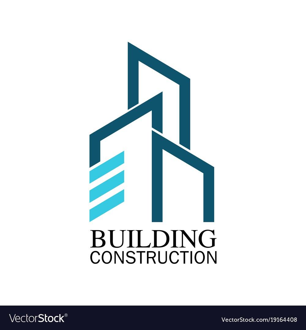 1000x1080 Building Construction Logo Vector 19164408 17