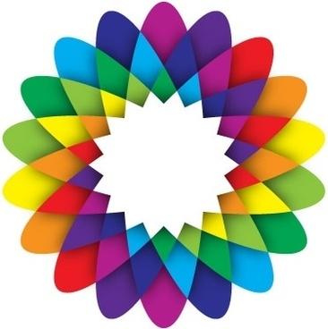 366x368 Geometric Flower Vector Free Vector Download (12,812 Free Vector