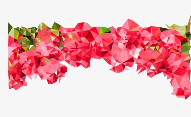 650x400 Vector Geometric Flower, Geometric Vector, Flower Vector, Flowers