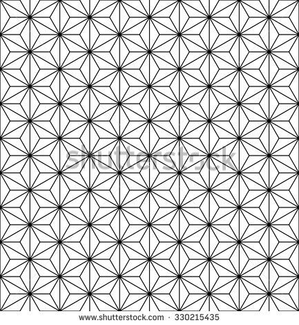 433x470 Geometric Flower Vector