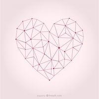 200x200 Triangular Vector Heart Shape Vector Free Vector Download In .ai