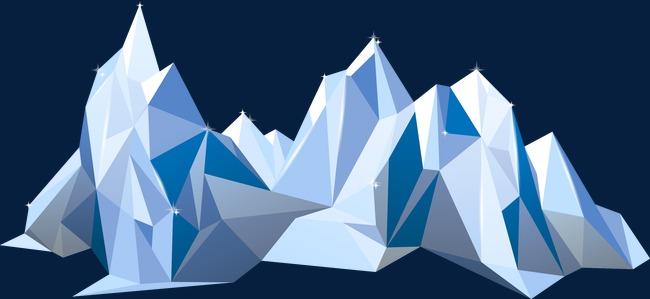 650x299 Mountains,geometric Mountains,mountain, Geometric Vector, Mountain