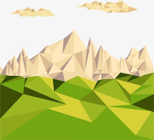 650x591 Geometric Mountains, Geometric Vector, Geometry Png And Vector For