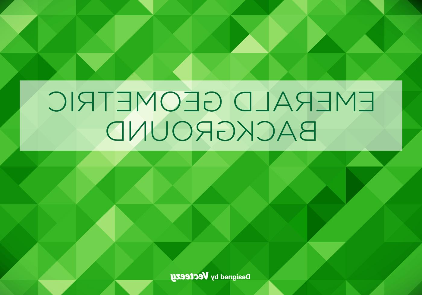 1400x980 Hd Emerald Green Geometrical Vector Background Photos