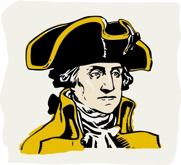 600x549 George Washington Clip Art Free Vector In Open Office Drawing Svg