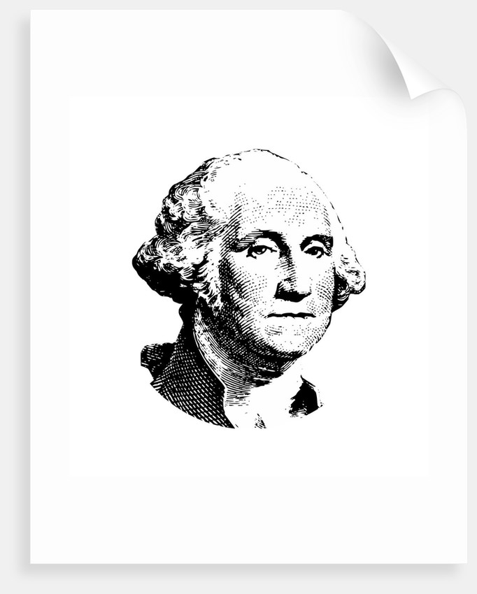 682x850 Vector Artwork Of George Washington. Posters Amp Prints By John Parrot