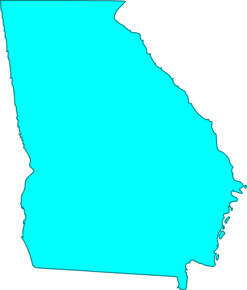 Georgia Outline Vector