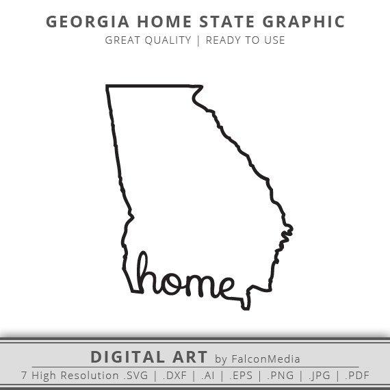 570x570 Georgia Svg Georgia Home Svg Georgia State Svg Georgia Etsy
