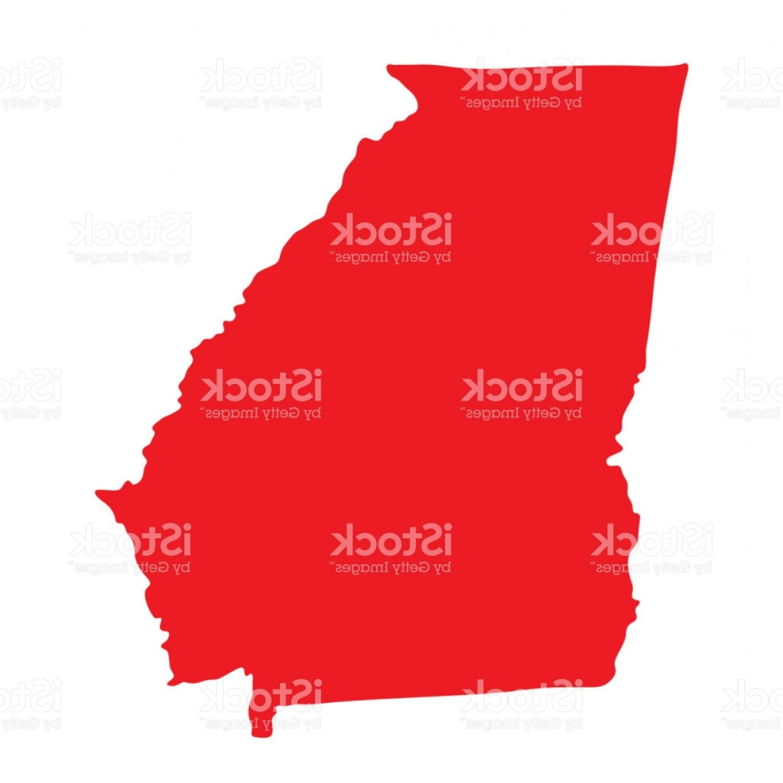 1228x1228 Georgia Vector Map Icon State Of Georgia Map Contour Outline