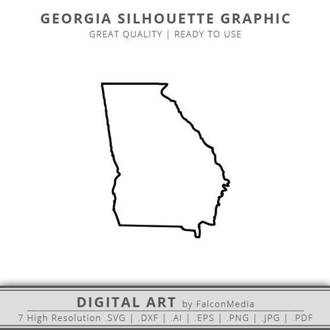642x642 Georgia Svg Georgia State Svg Georgia Outline Svg Etsy