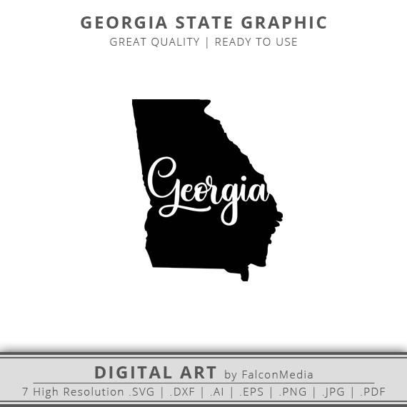 570x570 Georgia Svg Georgia State Outline Svg Georgia Outline Svg Etsy
