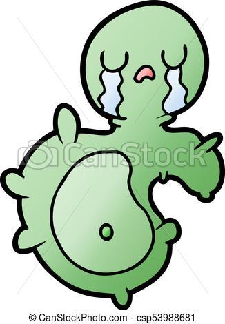 326x470 Cartoon Germ Vector
