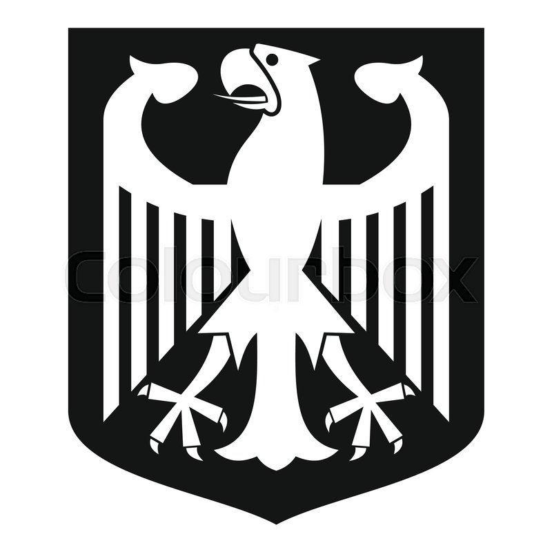 800x800 Coat Of Arms Of Germany Icon. Simple Illustration Of Coat Of Arms