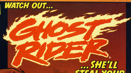 460x258 Great Comic Logos Ghost Rider Modern Ideas