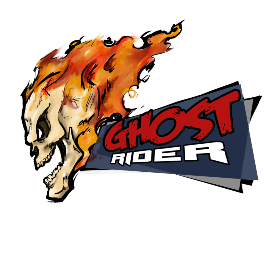894x894 Collection Of Free Vector Skulls Ghost Rider. Download On Ubisafe