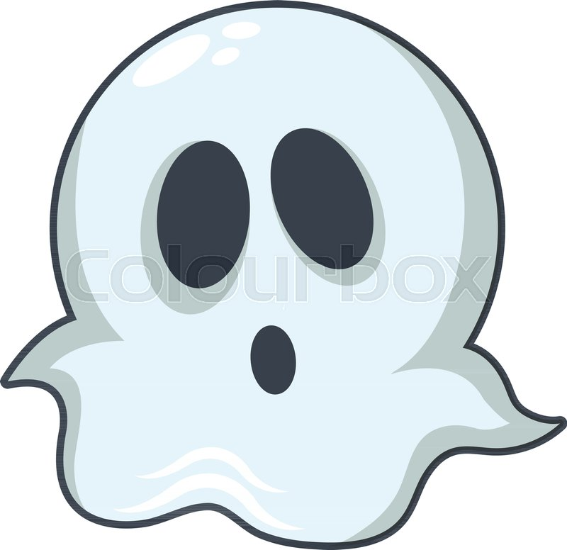 800x776 Ghost Icon. Cartoon Illustration Of Ghost Vector Icon For Web