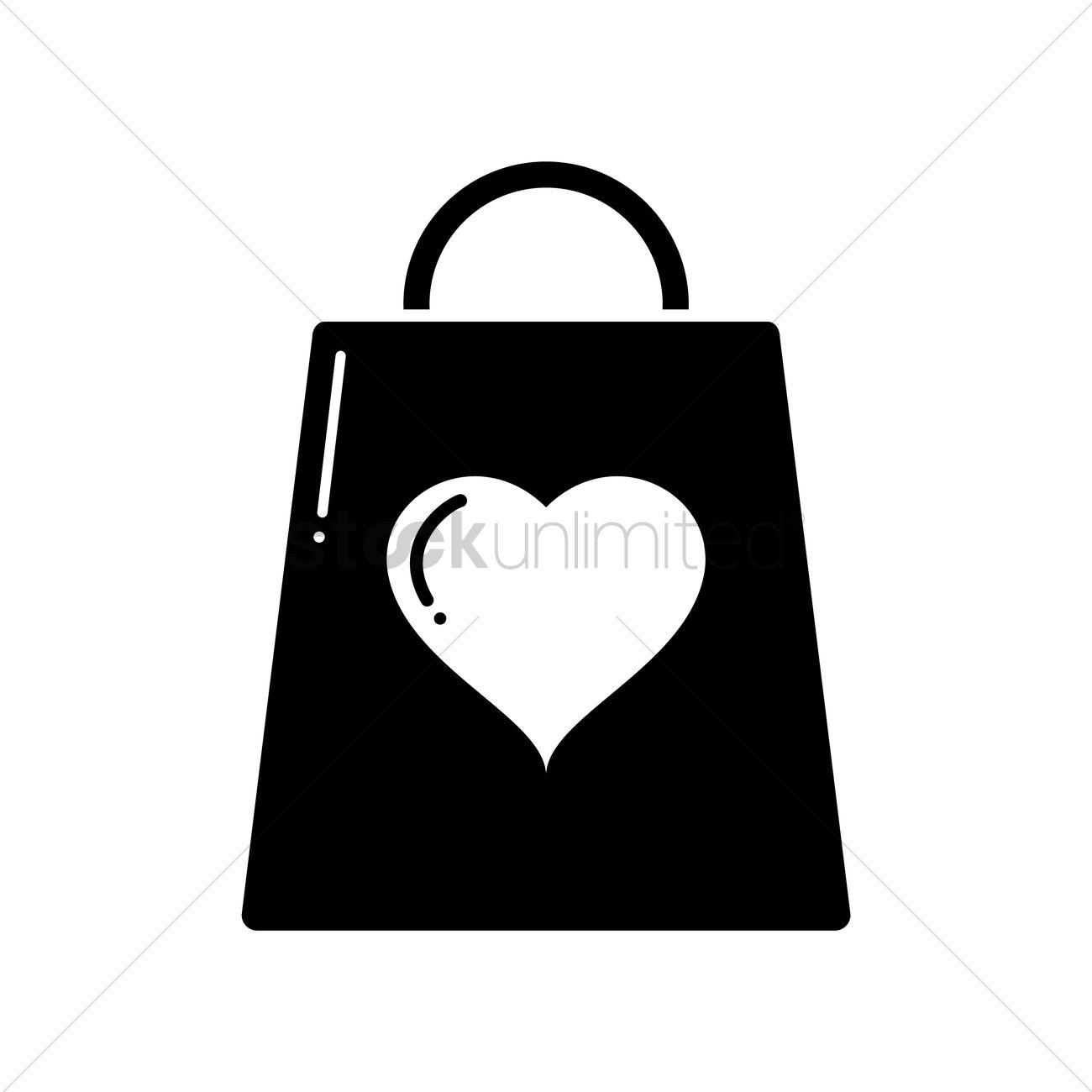 1300x1300 Gift Bag Vector Image