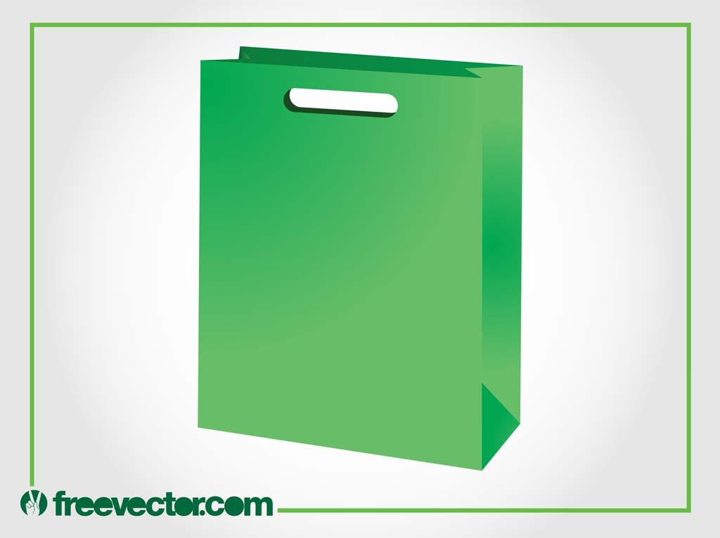 1024x765 Green Paper Bag Vector Vector Art Amp Graphics