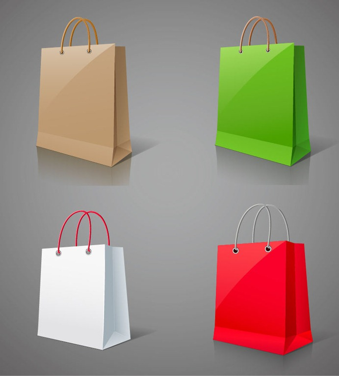 691x768 Shopping Bags Vector Graphic Free Vector Graphics All Free Web