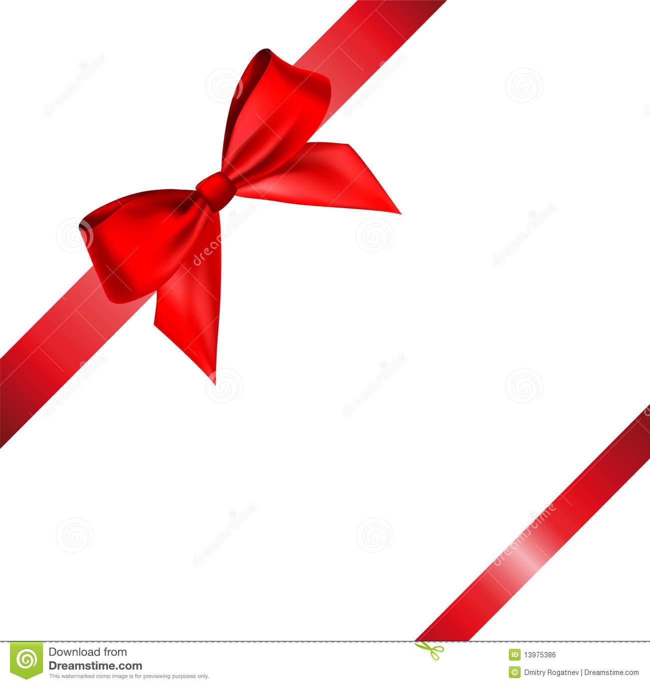 1300x1371 Red Ribbon Bow