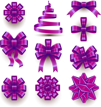 348x368 Ribbon Bow Vector Free Vector Download (5,151 Free Vector) For
