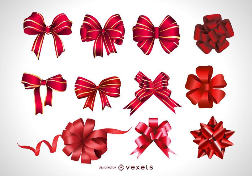 815x570 Vector Festive Gift Bow