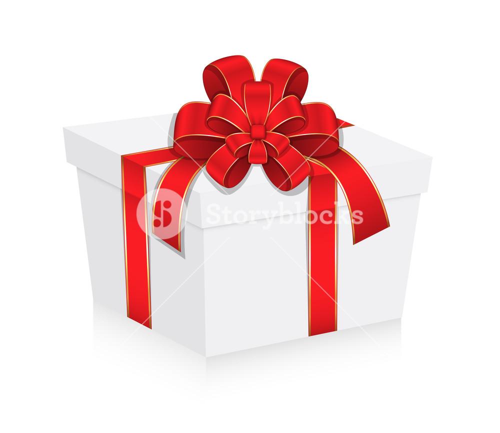 1000x866 Birthday Gift Box Vector Illustration Royalty Free Stock Image