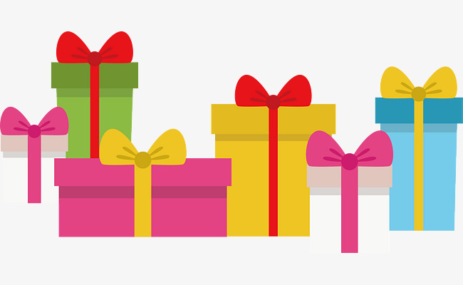 650x400 Colorful Gift Box, Vector Png, Gift Box, Color Gift Box Png And