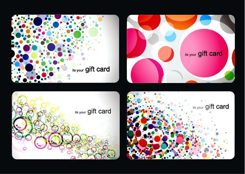 794x564 Modern Gift Card Templates Vector Set Design Template Christmas