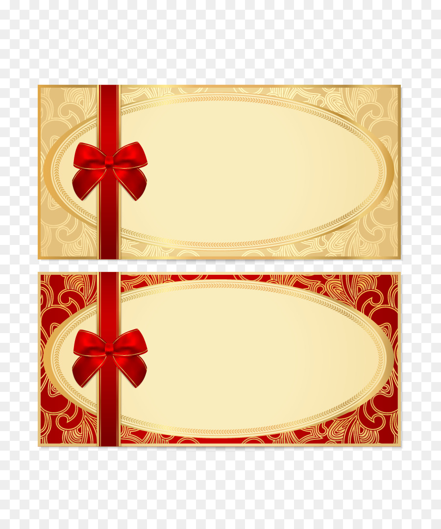 900x1080 Coupon Gift Card Voucher Template Stock Photography