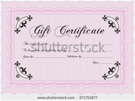 450x337 Simple Gift Certificate Template Admirable Gift Certificate Easy