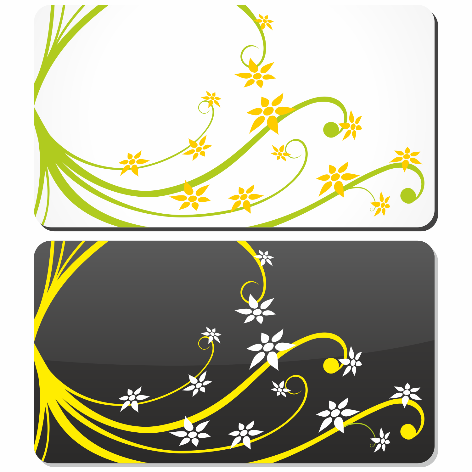 1500x1500 Vector For Free Use Gift Card With Floral Elements