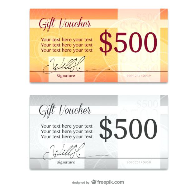 626x626 Elegant Gift Card Templates Vector Free Download Design Template