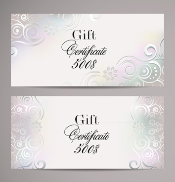 354x368 Free Vector Gift Certificate Template Free Vector Download (16,719