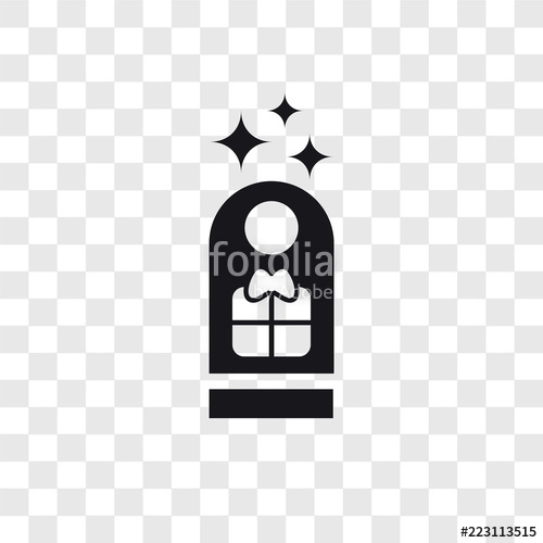 500x500 Gift Tag Vector Icon Isolated On Transparent Background, Gift Tag
