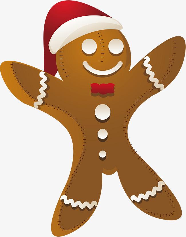 650x828 Christmas Gingerbread Man Design, Christmas Vector, Man Vector