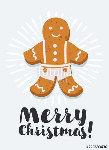 364x500 Gingerbread Man Vector Stock Image And Royalty Free Vector Files